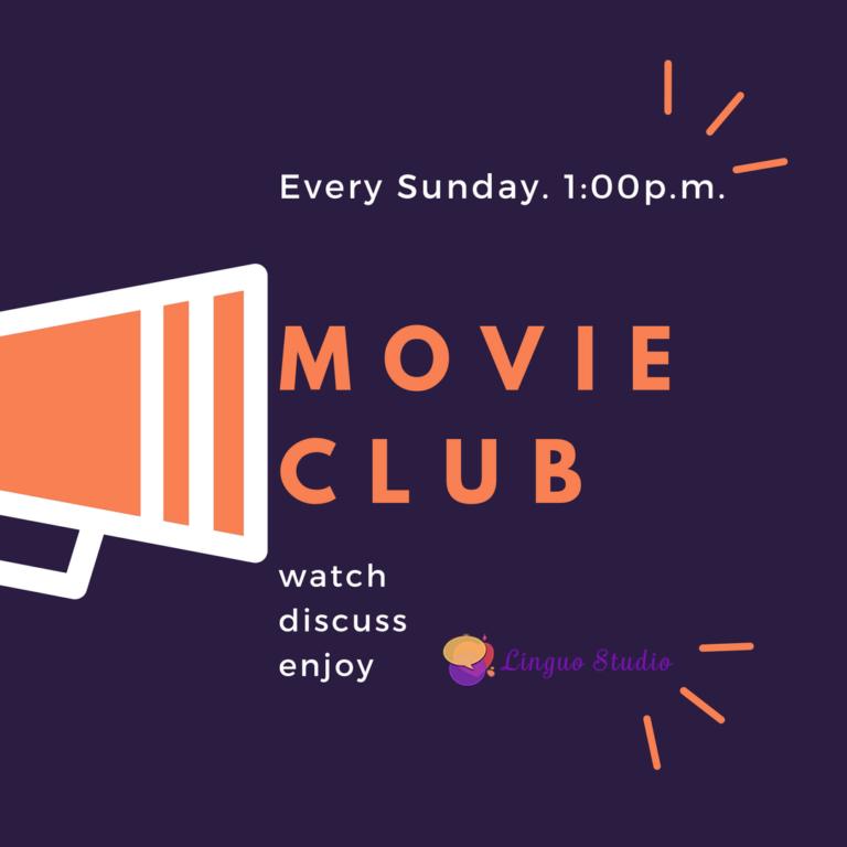 Movie club in Linguo Studio