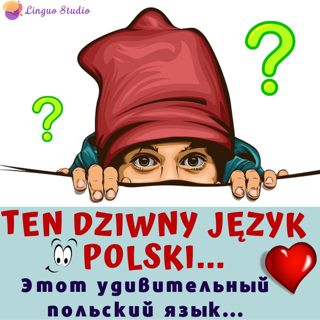 Польские cлова-обманки (похожее звучание, другое значение)